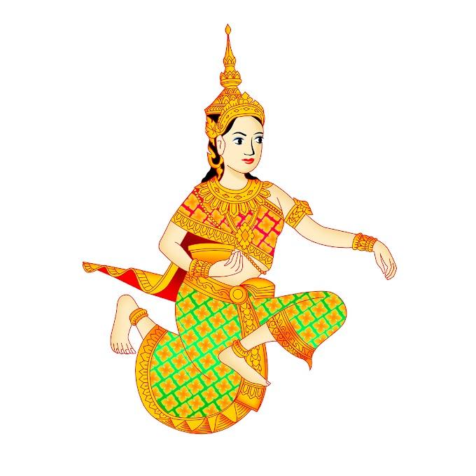 Khmer Angel - khmer graphic vector khmer free png file