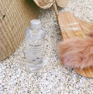 Công dụng nước hoa hồng Muji light toning water high moisture
