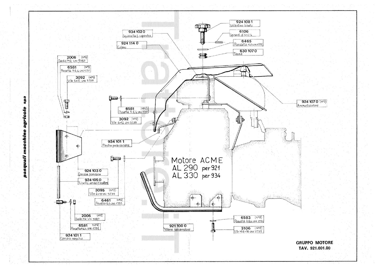 InfoTrattore.it: Motocoltivatore Pasquali 934 CV 10
