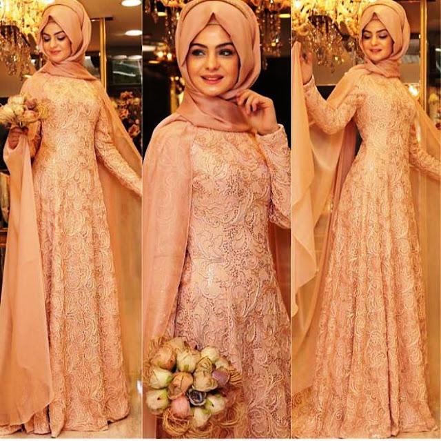 Inspirasi Gaun Muslimah Cantik dan Trendy 2001602