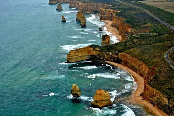 33 Amazing Beaches From Around The World - Twelve Apostles, Victoria, Australia