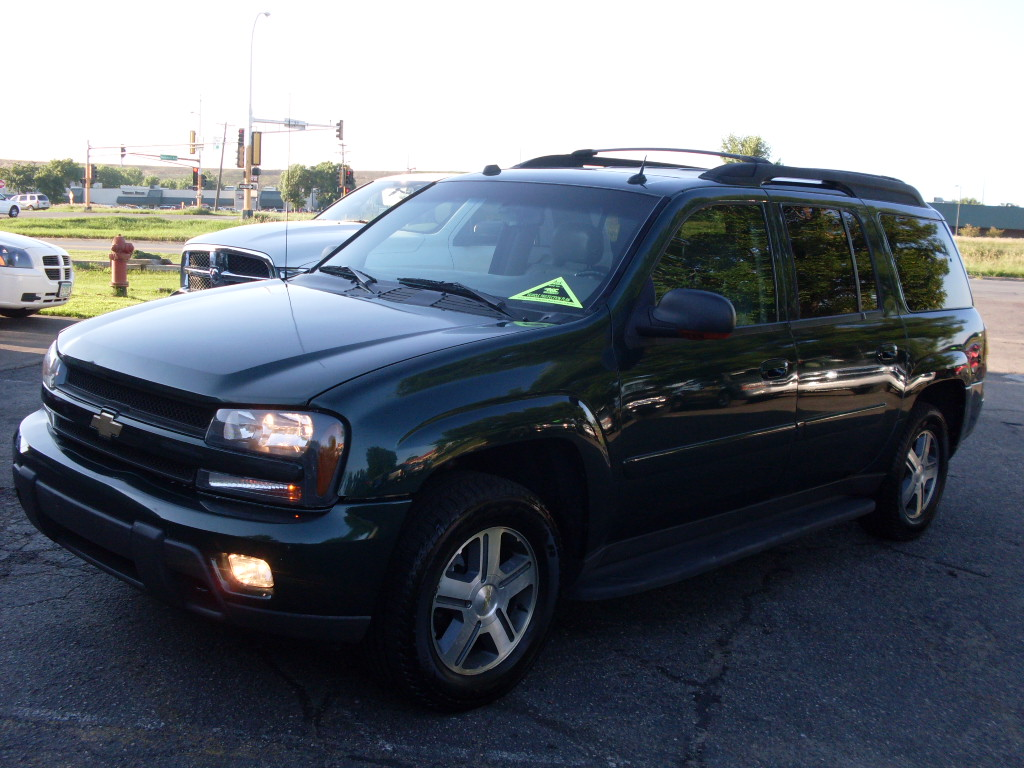 Ride Auto 2005 Chevrolet Trailblazer Green 7995