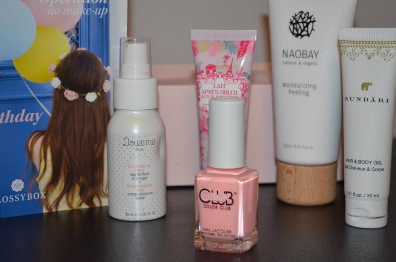 Glossybox Fresh Touch , Glossybox Aout 2015