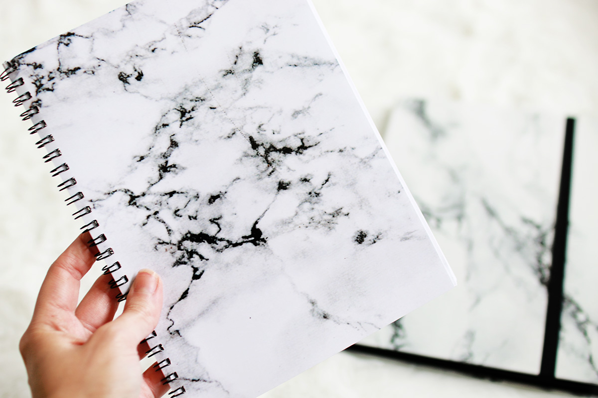 marble notebook, bloggers, future of blogging, 2016, 100 Ways to 30