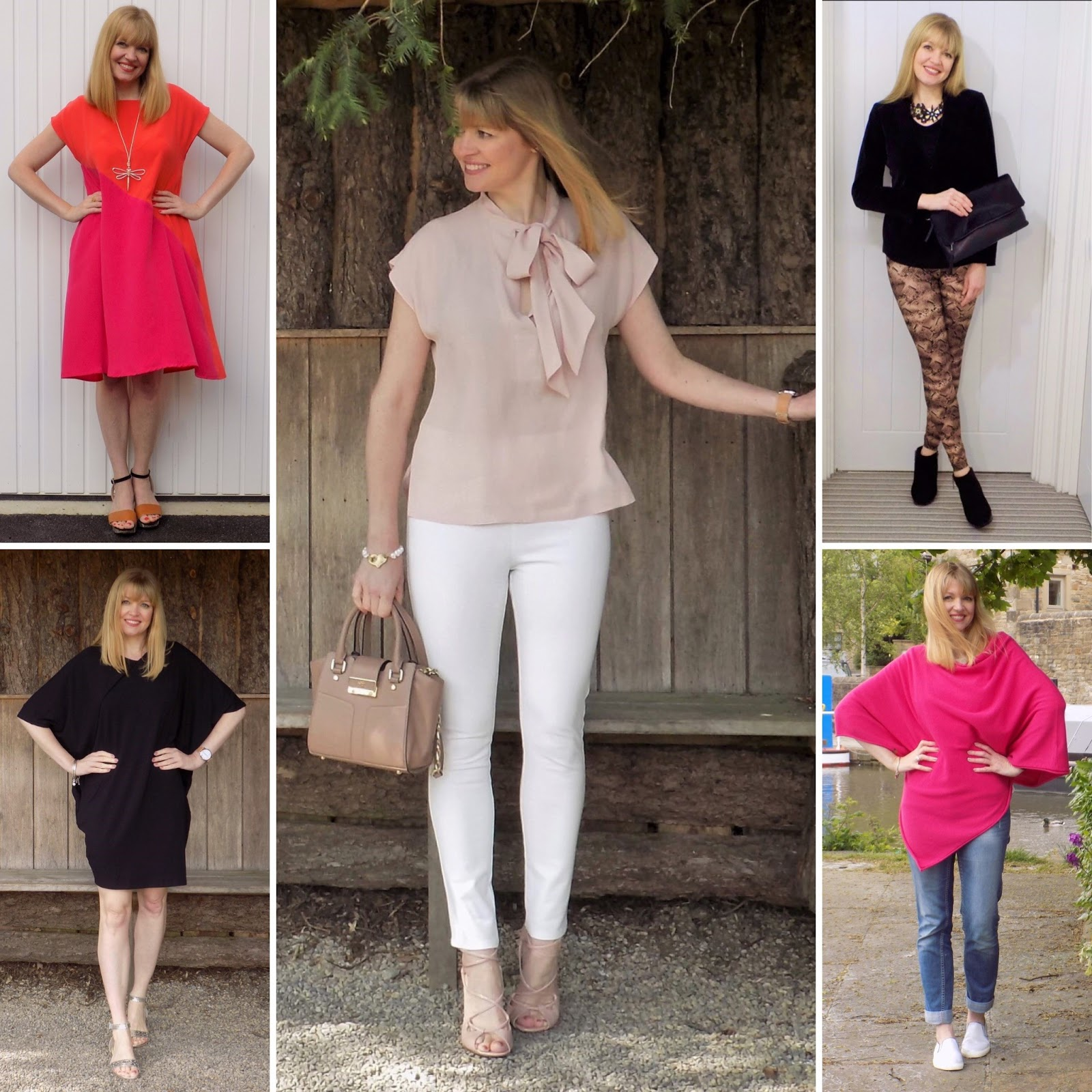 Hope fashion collage, over 40 style