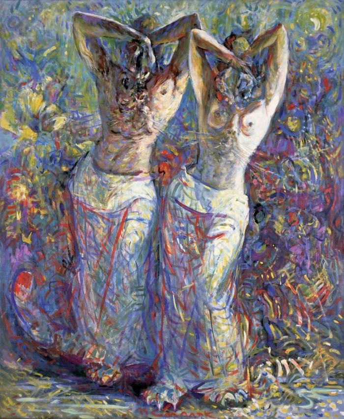 Белорусский художник. Andrei Smaliak