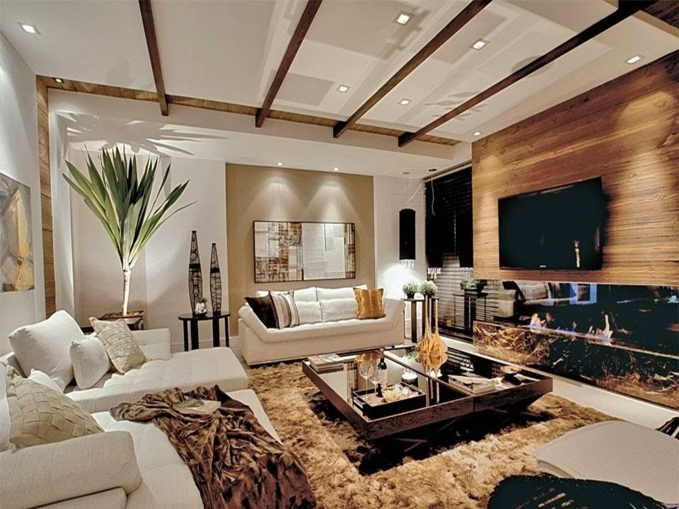 Beige Living Rooms Home: Pretty Brown And Beige Living Room