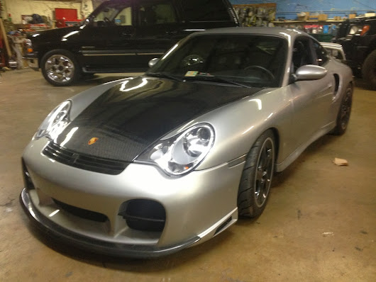 Porsche 996 911 GT2 for Full Sound System and Passport 9500ci w/ Radar Mirror