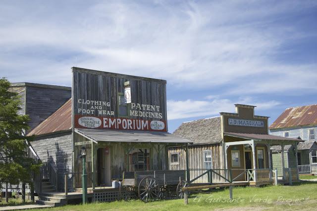 1880 Town - Dakota del Sur, Tienda Emporium