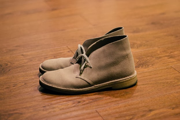 31f4b2fa Robot Nights: Thrift Find: Clarks Sand Suede Original Desert Boot