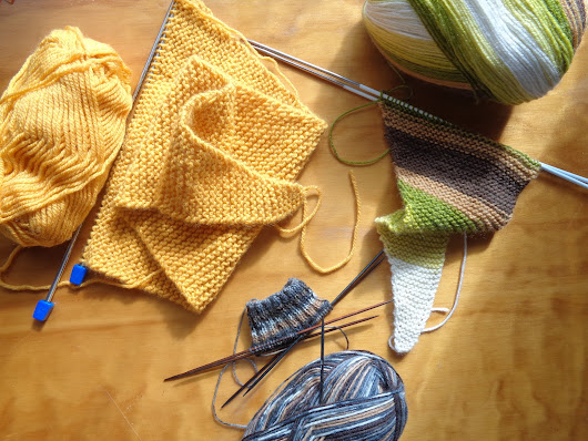 Decisions and Test Knitting.