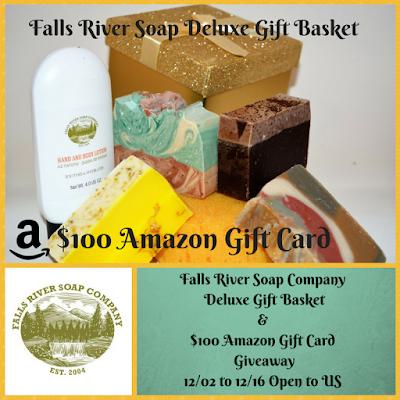 Enter the Falls River Soap Giveaway. Ends 12/16