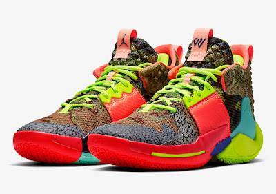competitive price e95fd 238a6 The energy around Russell Westbrook s Jordan Why Not Zer0.2 continues to  rise as the brand introduces a fourth overall colorway of the signature  shoe.