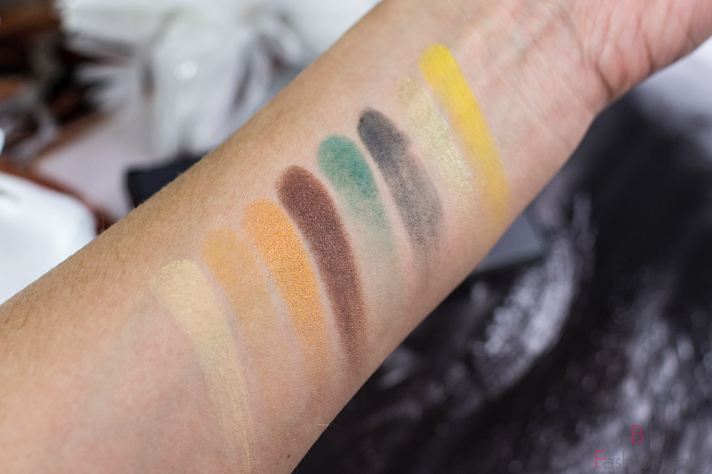 Smashbox Cover Shot Sunlit Yellow Swatches