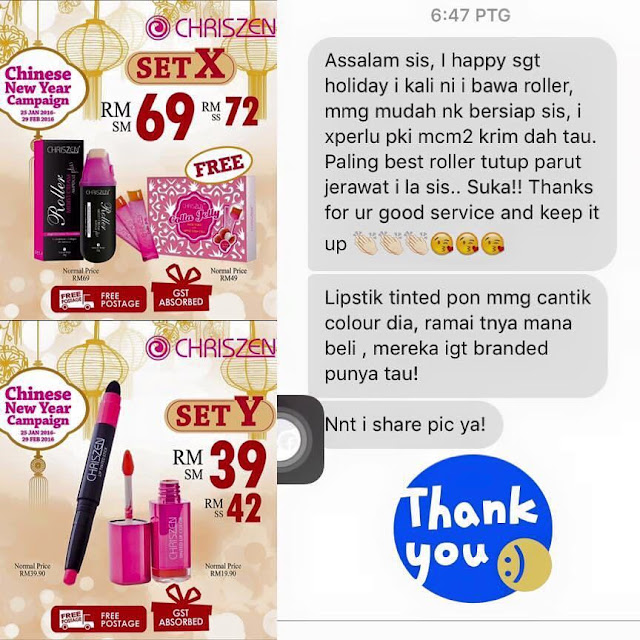 Testimoni Chriszen Lip Tinted Stick