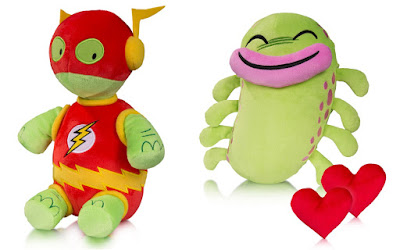 DC Comics Super Pets Series 5 Plush Figures by Art Baltazar – Whatzit & Silky