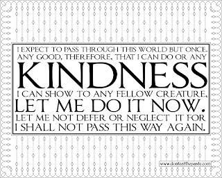 Quaker Quote about Kindness