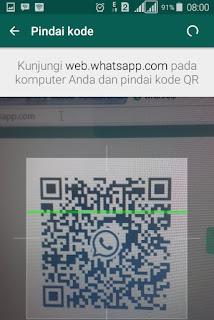 Scan kode QR WhatsApp