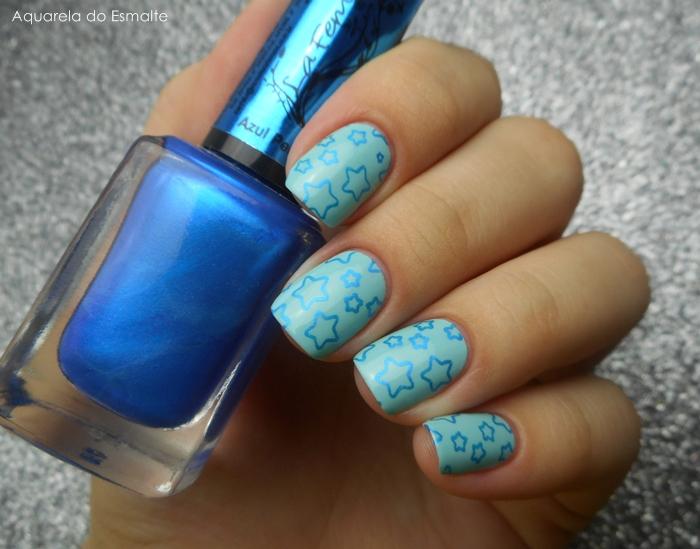 Hits - Meu Sonho + La femme - Azul Perolado + Placa Sugar Bubbles - 024
