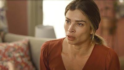 Paloma (Grazi Massafera) garante a Elias (Marcelo Faria)