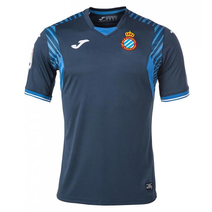 Joma Camiseta del RCD Espanyol para la temporada 2017-2018 ... 6a41f01e9ff0c