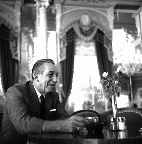 Walt Disney at the Plaza Inn, 1966 Photo (c) Disney Parks