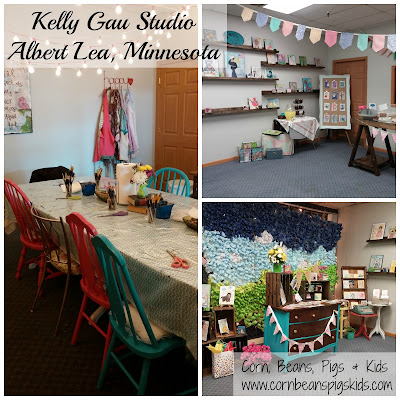 Girls Night Out with Kelly Gau Studio - studio located in Albert Lea, Minnesota