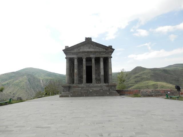 Travel Photos With No Filter and edits garni temple armenia