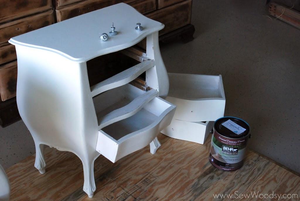 Basic Cheap Antique Nightstand Revamp