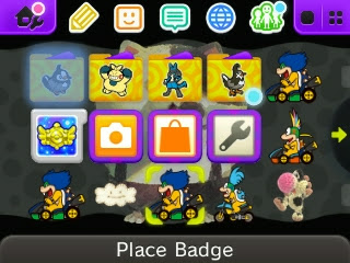Ludwig Von Koopa badge Nintendo Badge Arcade 3DS HOME menu