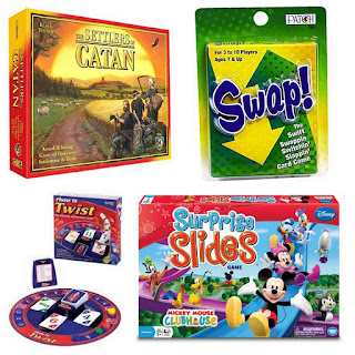 These 10 favorite family games would make perfect gifts this Christmas holiday season. Board games, card games, children's games, games the adults will enjoy... there is something for everyone in this collection. Give a gift that keeps on giving by bringing families together to play and make precious memories.