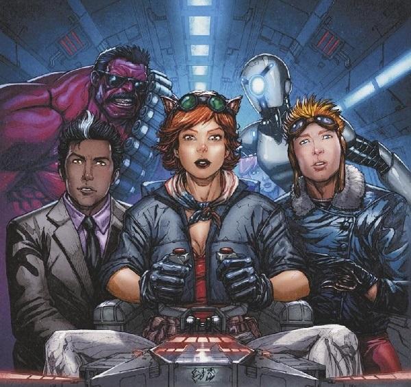 U.S.Avengers хіп-хоп обкладинка