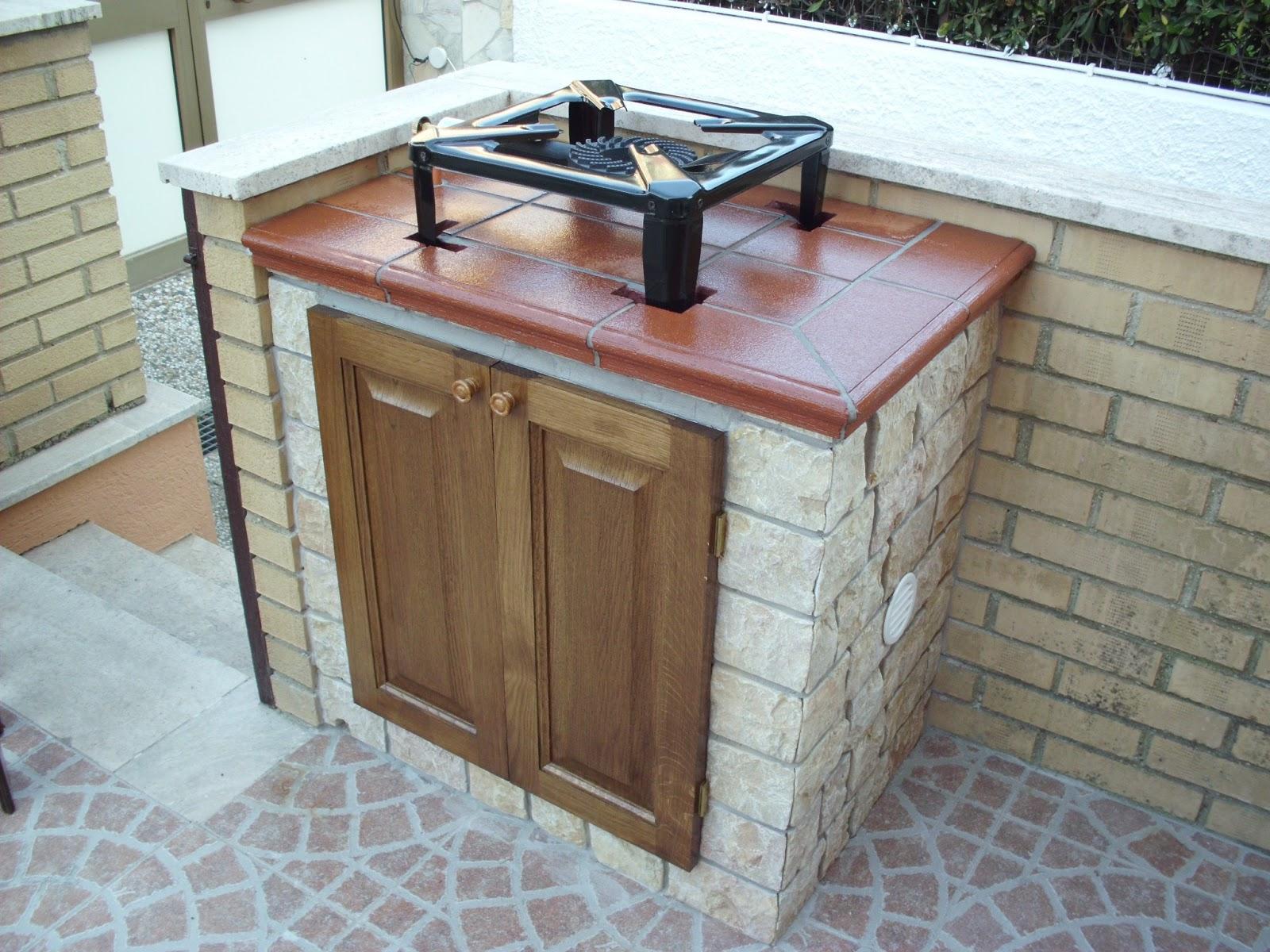 Divano In Muratura Per Esterno giardino e terrazzo cucina da esterno cordoba 35112791