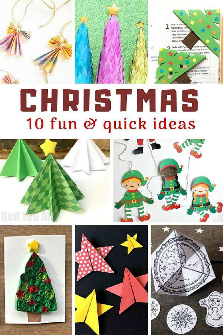 Fun and Quick Christmas Craft Ideas for Kids