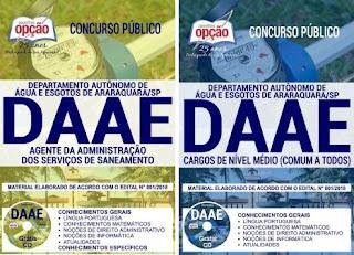 Apostila concurso da Daae Araraquara - SP