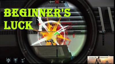 Sniper Fury  Gameplay -  a beginner's luck