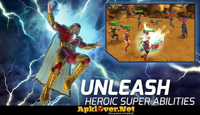 DC Legends MOD APK unlimited money