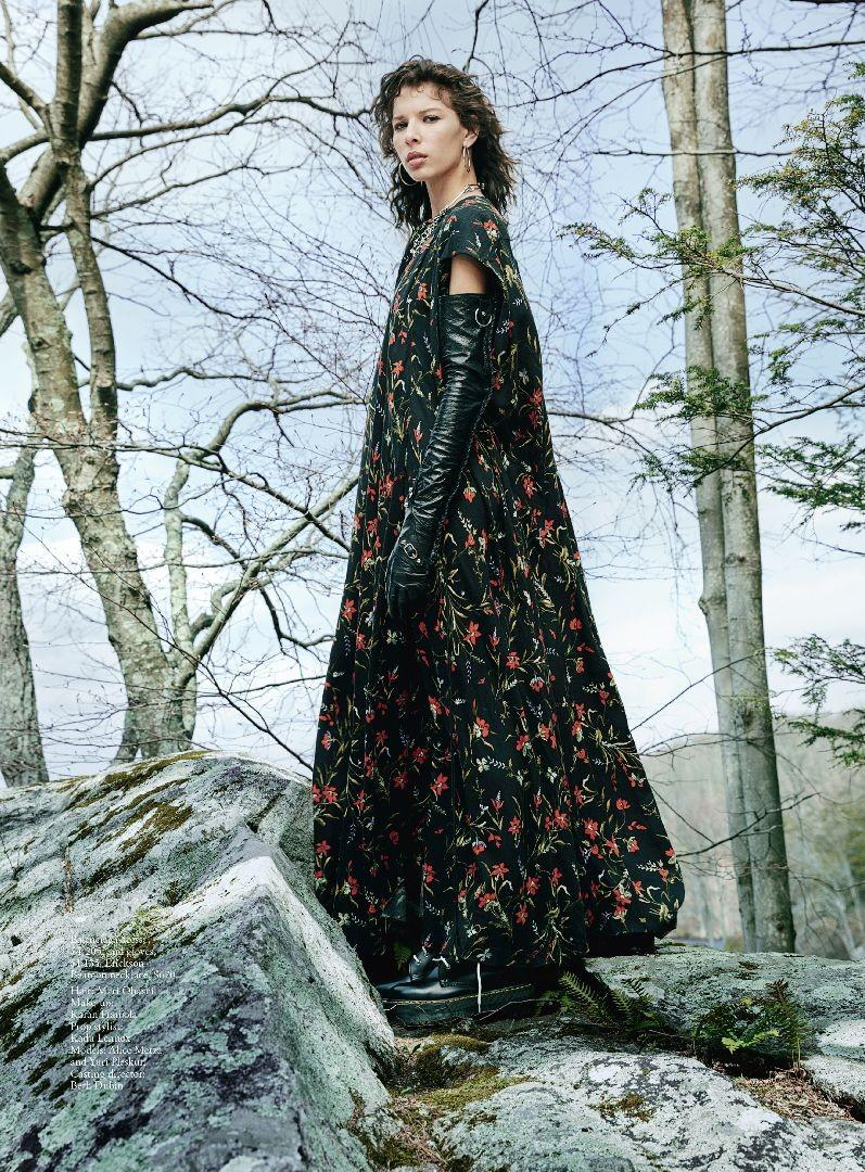 Alice Metza in 'Wild At Heart' for Vogue Australia July 2016