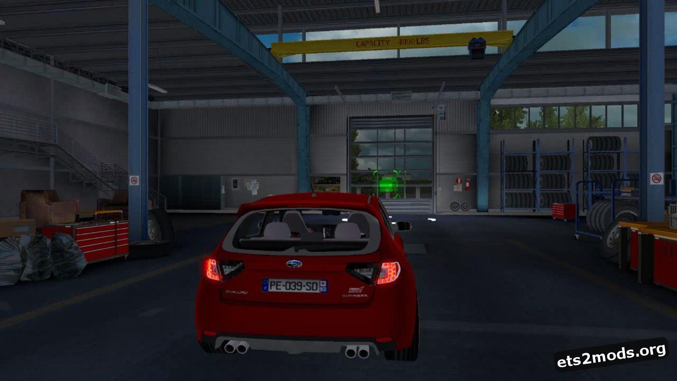 Car - Subaru Impreza WRX STI V 1