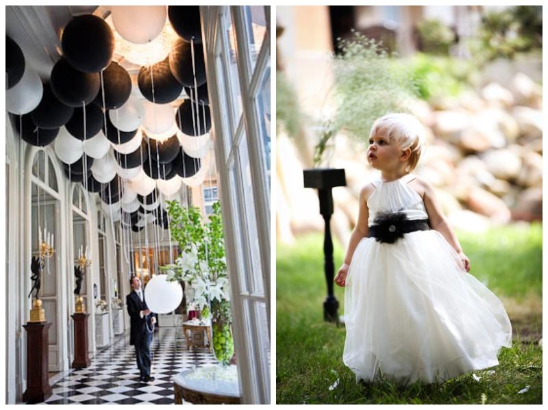 Monochrome Urban Wedding Inspiration