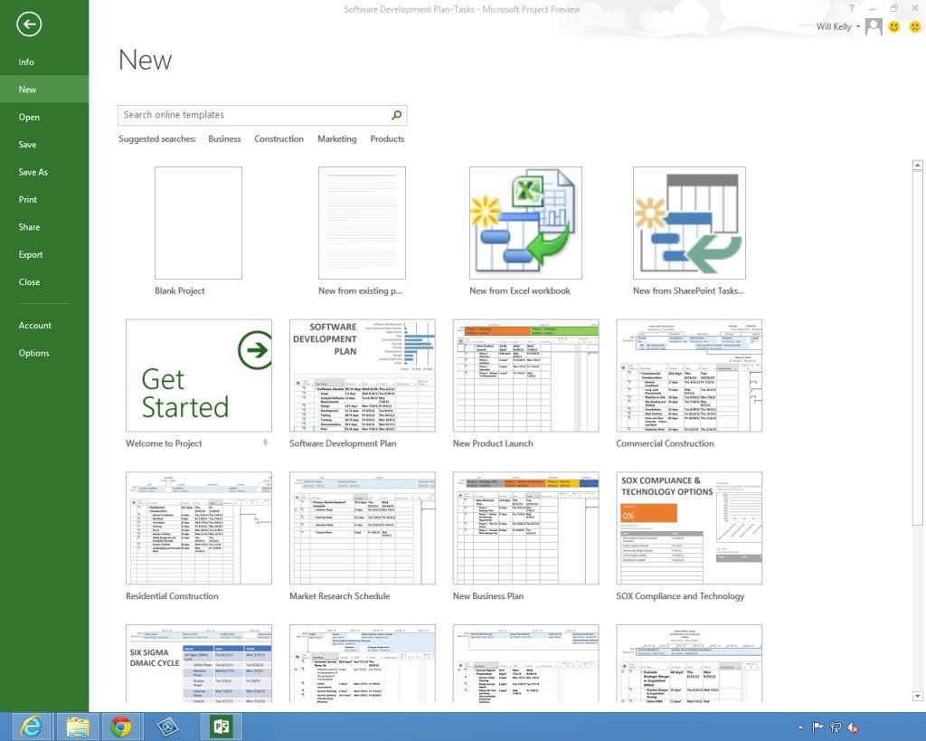 Microsoft Project 2013 Trial Free Download - GaZ