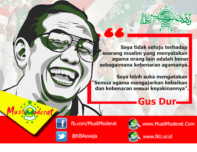 Gus Dur pun Dilengserkan Pakai Ayat Al Qur'an