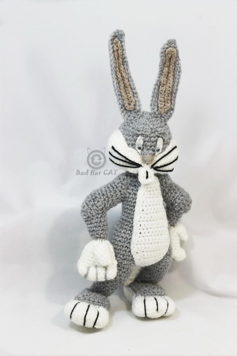 Super süße handgemachte Bugs Bunny Amigurumi häkeln Puppe mit | Etsy | 1200x800