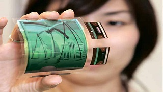 flexible display electronics pdf seminar ppt
