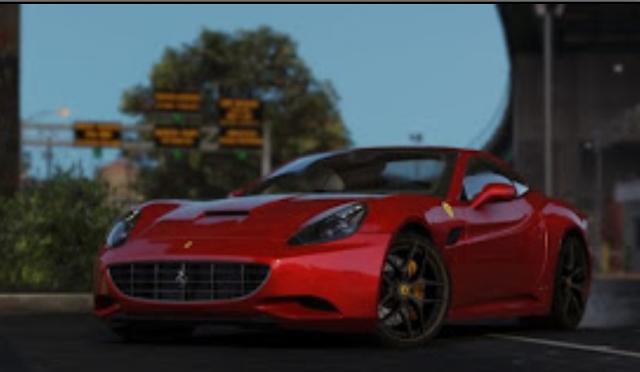 GTA V Mods - Ferrari California