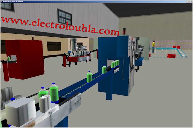 تطبيقات جد مهمة على PLC من داخل الشركات والمصانع  مع الشرح والحل