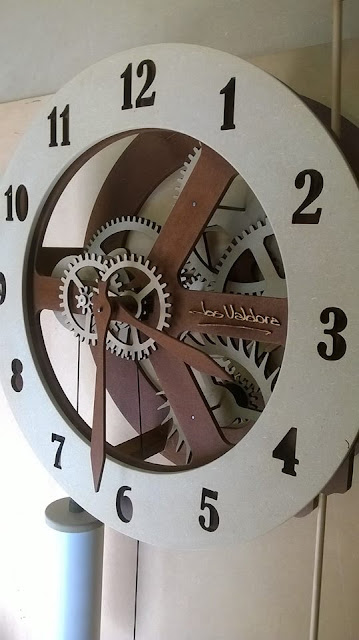 great wall clock dxf file for free
