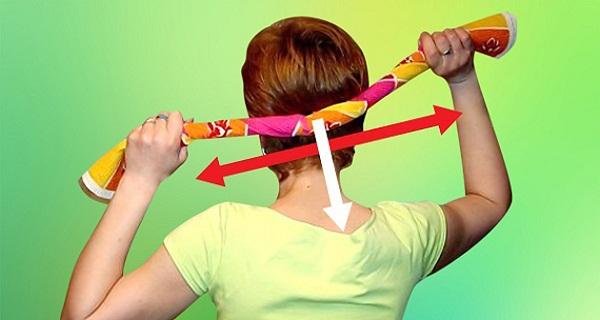 masajul cu prosopul este o metoda eficienta de calmare a durerilor de cap