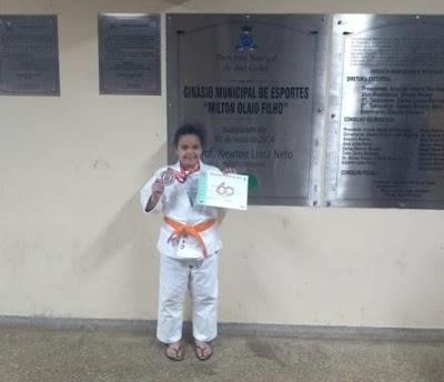 Judoca da ABJ conquista medalha de prata no Estadual em São Carlos-SP