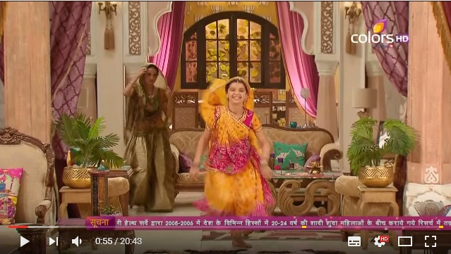 Nandini trở về nhà cùng anandi